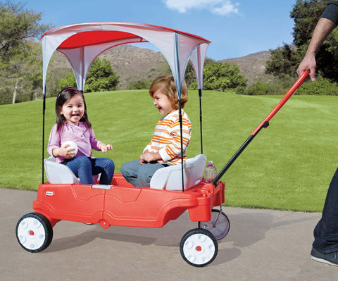 15. Little Tikes Fold ' n Go Deluxe Folding Wagon