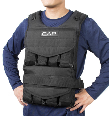 10. CAP Barbell Adjustable Weighted Vest