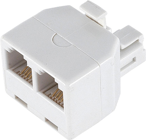 7. Duplex Wall Jack Adapter