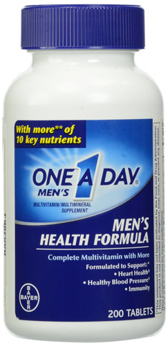 6. One-A-Day Multivitamin Men's Health Supplement Formula