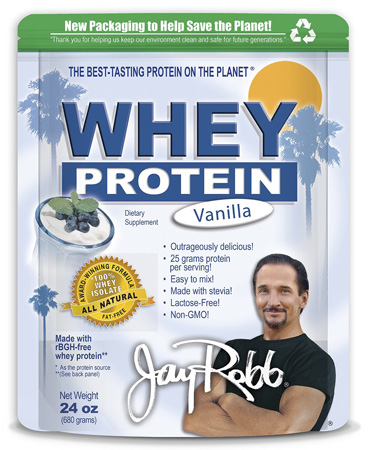 2. Jay Robb - Grass-Fed Whey Protein Isolate Powder