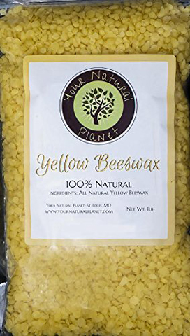 10. One-Pound Beeswax Pellets