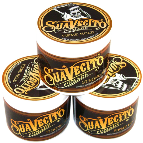 6. Suavecito Pomade Firme/Strong Hold