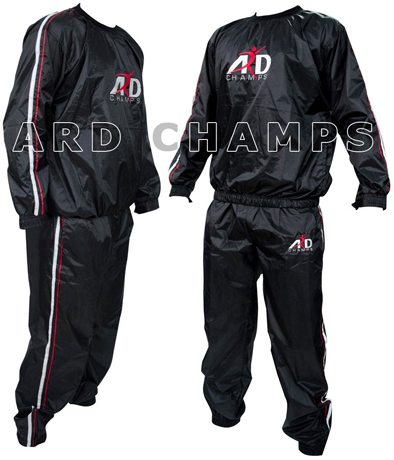 7. Heavy Duty Sweat Suit Sauna Exercise Gym Suit
