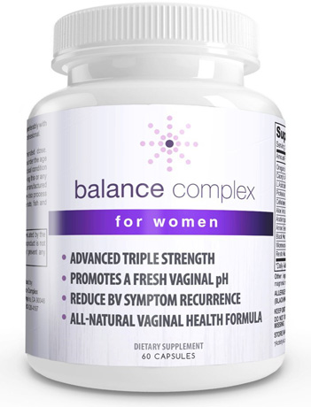 2. Balance Complex Yeast Vaginal Health Dietary Supplement
