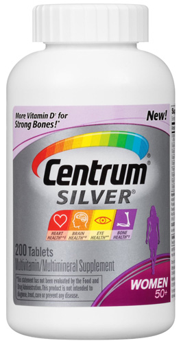 5. Centrum Silver Women's Pills 50+