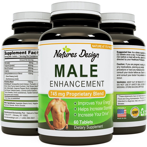 3. Natural Male Enhancement Supplement