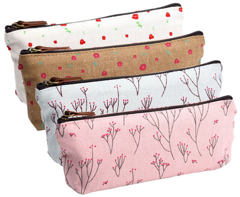 3. eBoot Canvas Pen Pencil Case