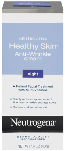 1. Neutrogena Healthy Skin Anti-Wrinkle Night Cream