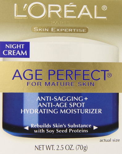 9. L'Oreal Paris Age Perfect Night Cream