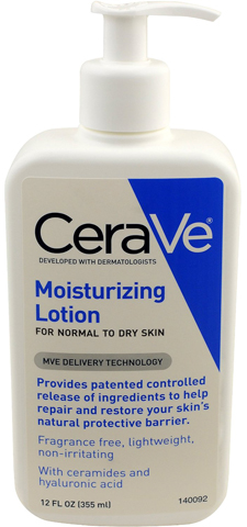 3. CeraVe Moisturizing Lotion