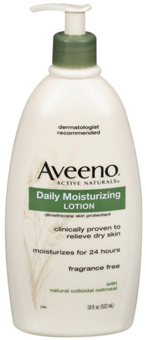 2. Aveeno Daily Moisturizing Lotion