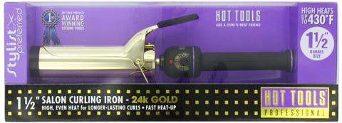 7. Curling Iron with Multi-Heat Control,