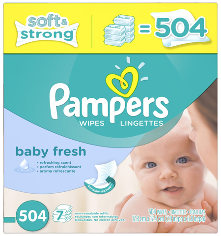 12. Softcare Baby Fresh Wipes