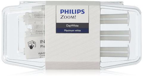 2. Philips Zoom Whitening (Day White 14%, 3 syringes)