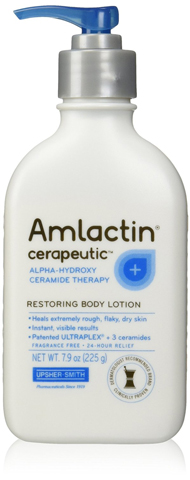 10. AmLactin Cerapeutic Body Lotion