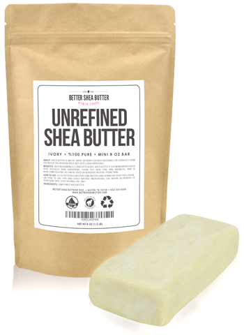 9. Unrefined Shea Butter