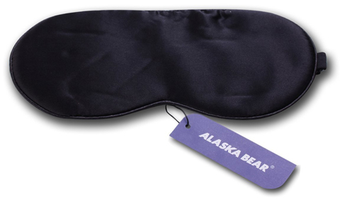 1. ALASKA BEAR - Natural silk sleep mask & blindfold