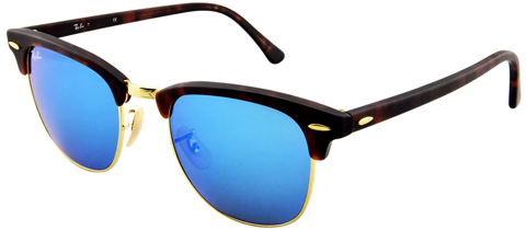 11. Ray-Ban RB3016 Classic Clubmaster Sunglasses