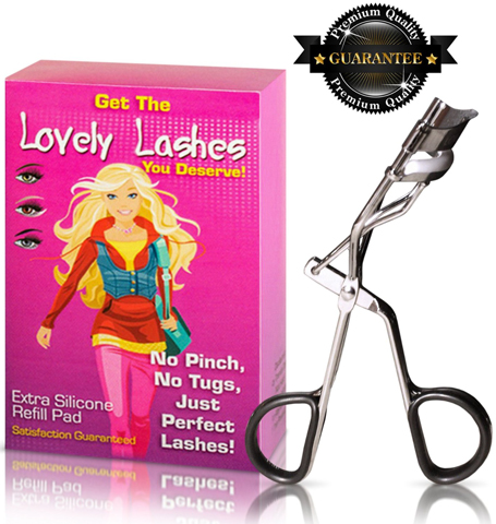 2. Eyelash Curler with Refill Pad