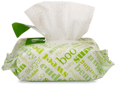 2. Baby Wipes, Fresh Scent, Tub & Refills