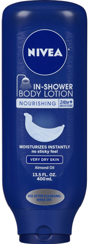 6. Nivea In-shower Body Lotion