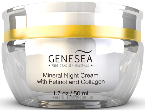4. Genesea Hydrating Mineral Night Cream