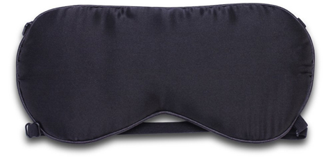 6. ALASKA BEAR - 2 straps natural silk sleep mask