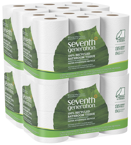 1. Seventh Generation Bathroom Tissue