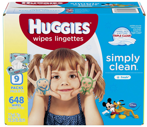 5. Simply Clean Baby Wipes, Fresh Scent