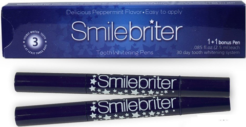 1. Smilebriter Teeth Whitening Gel Pens 60 Day Supply