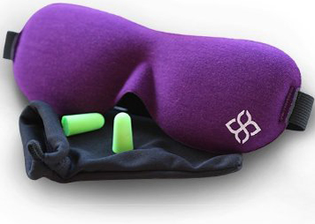 4. Purple Sleep Mask by Bedtime Bliss