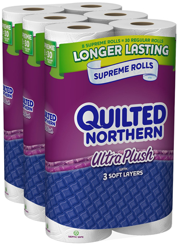 15. Quilted Northern Ultra Plush