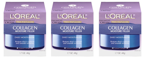 3. L'Oreal Paris Skin Care Collagen Moisture Cream