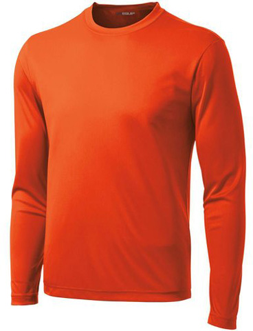 6. DRI-EQUIP Long Sleeve Atletic Shirt
