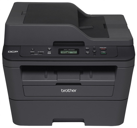 8. Brother DCPL2540DW Wireless Compact Laser Printer, Amazon Dash Replenishment Enabled