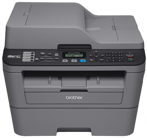 9. Brother MFCL2700DW Compact Laser All-In One Printer with Wireless Networking and Duplex Printing