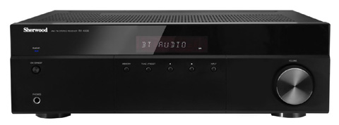 5. Sherwood RX4508 200W AM/FM Stereo Receiver with Bluetooth