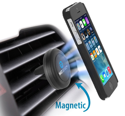10. WizGear Universal Air Vent Magnetic Car Mount Holder