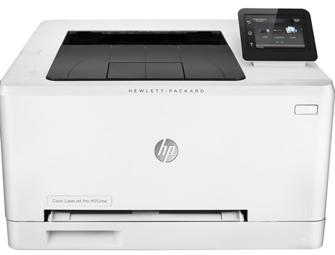 2. HP M252dw LaserJet Pro B4A22A#BGJ Wireless Color Laser Printer with Print Speed Up to 19 ppm