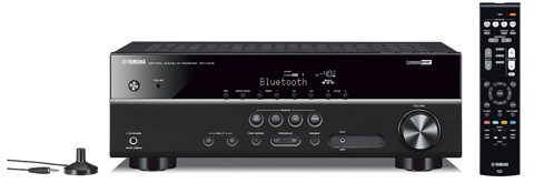 9. Yamaha RX-V379BL 5.1-Channel A/V Receiver with Bluetooth