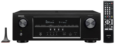 8. Denon AVR-S710W 7.2 Channel Full 4K Ultra HD AV Receiver with Bluetooth and WI-FI