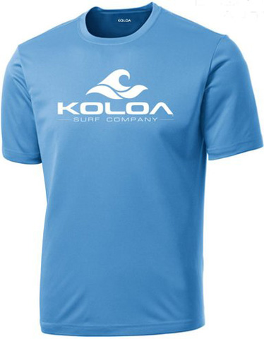 2. Koloa Surf Wave Logo All Sport Training Shirt