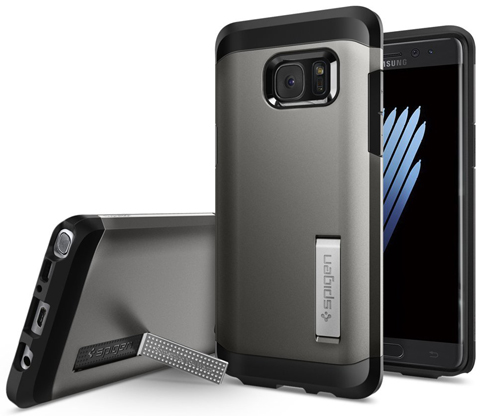 2. Galaxy Note 7 Case, Spigen® [Tough Armor] HEAVY DUTY