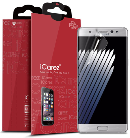 5. iCarez [Full Coverage] Screen Protector