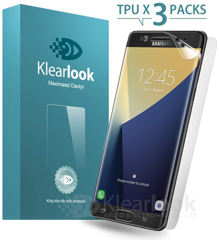 3. Klearlook CURVE-FIT full coverage crystal clear screen protector