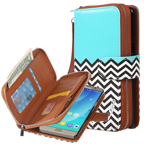 3. Galaxy Note 7 Case, E LV Galaxy Note 7 Purse Wallet Case Cover