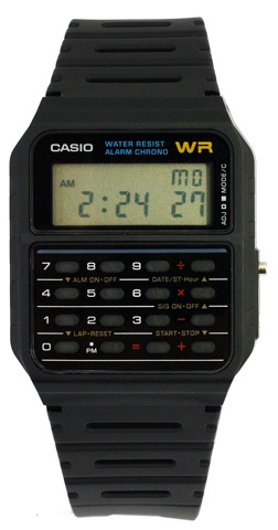 6. Casio Men's Calculator Watch