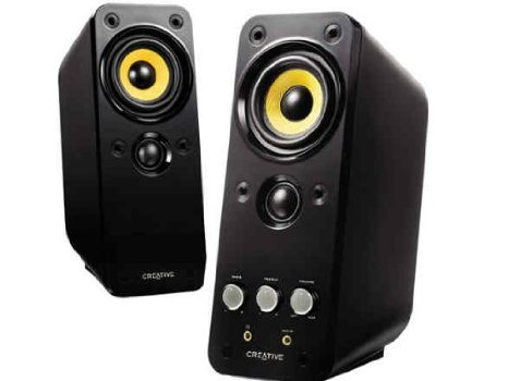 9. Creative GigaWorks T20 Series II 2.0 Multimedia Speaker System with BasXPort Technology