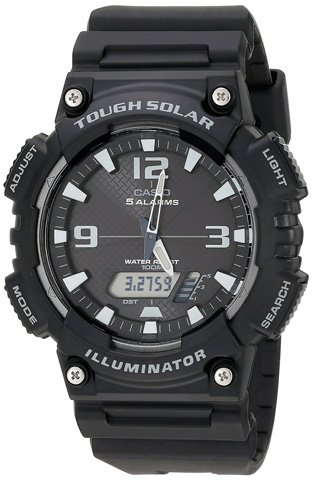 1. Casio Men's Solar Sport Combination Watch